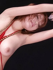 SARA Asian doll gets vibrators on big assets and on fish taco - Japarn porn pics at JapHole.com