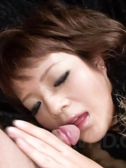 Kurara Iijima Asian has pussy fingered and rubbed before fucking - Japarn porn pics at JapHole.com