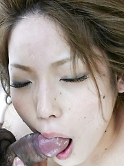 Tsubasa Tamaki sucks boner and gets it in her fingered fish taco - Japarn porn pics at JapHole.com