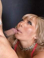 Rina Aina Asian has cum pouring from mouth after good blowjob - Japarn porn pics at JapHole.com