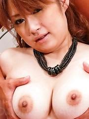 Madoka Ayukawa Asian has fine cans fondled and gets vibrator - Japarn porn pics at JapHole.com