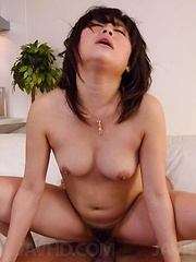 Kyouka Mizusawa Asian has nooky fingered and rides shlong with it - Japarn porn pics at JapHole.com