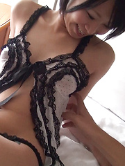 Ayane is exactly the Japanese girl you would have imagined secretly fooling around, especially after the way she caught your eye at the hotel reception desk. - Japarn porn pics at JapHole.com
