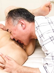 Ruri Hayami Asian has cans sucked and cunt fucked like crazy - Japarn porn pics at JapHole.com