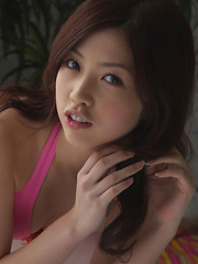 Azusa Togashi Asian has lovely smile, juicy bum and generous cans - Japarn porn pics at JapHole.com