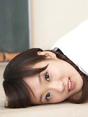 Kana Yuuki Asian with sexy pigtails is very willing for sports - Japarn porn pics at JapHole.com