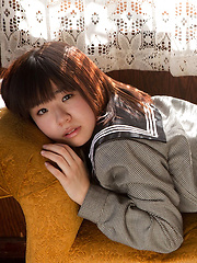 Hikari Azuma is nice babe that gets naked in front of the camera - Japarn porn pics at JapHole.com