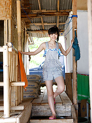 Airi Suzuki Asian walks on favorite streets exposing her curves - Japarn porn pics at JapHole.com