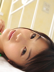 Noriko Kijima Asian has big tits and hot ass in colorful lingerie - Japarn porn pics at JapHole.com