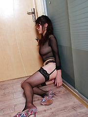 Sufei Asian with huge cans in see through outfit is very kinky - Japarn porn pics at JapHole.com