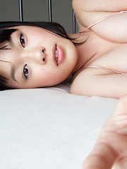 Tomoe Yamanaka Asian in pink long socks is suck apettizing babe