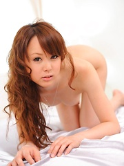 Jyunko Hayama Asian has wet pussy from vibrator and sucked cock - Japarn porn pics at JapHole.com