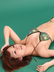 Ichika Nishimura Asian on heels looks simply hot in lingerie - Japarn porn pics at JapHole.com
