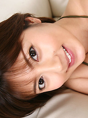 Kaori Tanaka Asian shows juicy boobies in shinny bra in her bed - Japarn porn pics at JapHole.com