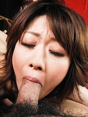 Rio Kagawa Asian has asshole and cooter fucked with sex toys - Japarn porn pics at JapHole.com