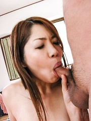 Rika Minamino Asian has asshole and hot box fucked same time - Japarn porn pics at JapHole.com
