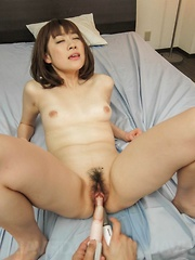 Maki Sarada Asian has asshole fucked with fingers and vibrators - Japarn porn pics at JapHole.com