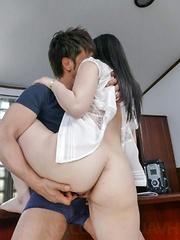 Yuka Wakatsuki Asian has beaver licked and fucked all the way - Japarn porn pics at JapHole.com