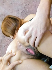 Yuika Akimoto Asian is fingered, sucks dicks and is well screwed