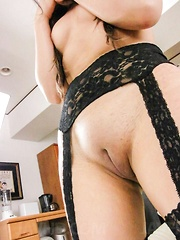 Morita Kurumi Asian has cooter shaved before getting anal fuck - Japarn porn pics at JapHole.com