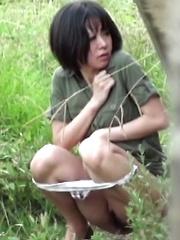 Park, Piss, Surprise! - Japarn porn pics at JapHole.com