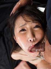 Roped Sakaida Minami face fuck - Japarn porn pics at JapHole.com