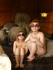 Sweet Japanese tarts gobble up a hard cock - Japarn porn pics at JapHole.com