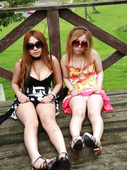 Gorgeous Japanese girls expose their breasts - Japarn porn pics at JapHole.com