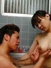 Myuu Tsubaki groans while being shagged rough - Japarn porn pics at JapHole.com