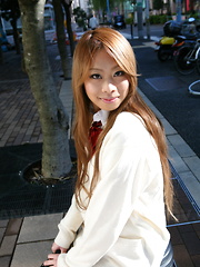 Cute Remika Uehara likes to be photographed - Japarn porn pics at JapHole.com