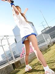 Remika Uehara has really good looking curves