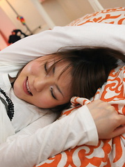 Fuwari wants to have phone sex with her bf - Japarn porn pics at JapHole.com