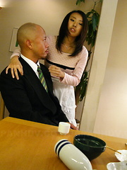 Horny housewife Yui Asao getting a good fuck. - Japarn porn pics at JapHole.com