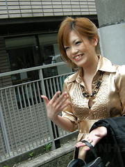 Stunning babe Setsuna gets drilled in salon - Japarn porn pics at JapHole.com