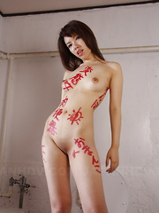 Alluring Remi Kawamura poses on the set nude - Japarn porn pics at JapHole.com