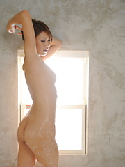 Stunning Runa Sesaki takes a bath for cam - Japarn porn pics at JapHole.com