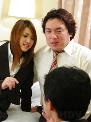 Turned on Rino Mizusawa gives a nasty ride - Japarn porn pics at JapHole.com
