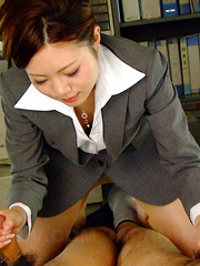 Sexy Iroha Kawashima works on a hot blowjob - Japarn porn pics at JapHole.com