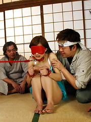 Hot Suzuka Ishikawa gets in group bondage sex - Japarn porn pics at JapHole.com