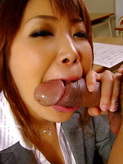 Arousig Yuno Hoshi gets nailed in class hard - Japarn porn pics at JapHole.com