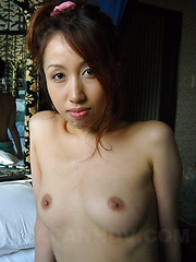 Hot redhead enjoys in hot sex after showering - Japarn porn pics at JapHole.com