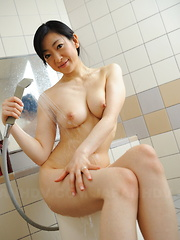 Pale and arousing Emiko Koike shows her body - Japarn porn pics at JapHole.com