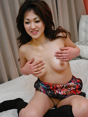 Lusty hot Yu Yamashita enjoys in group sex - Japarn porn pics at JapHole.com