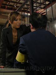 Hot and sexy Japanese Kei gets banged hard - Japarn porn pics at JapHole.com