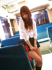 Yayoi Yoshino enjoys in bus sex after school - Japarn porn pics at JapHole.com