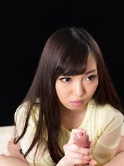 Smiley japanese babe Yada Chiemi - Japarn porn pics at JapHole.com