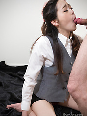 Hot deepthroat for Isaka Nao - Japarn porn pics at JapHole.com