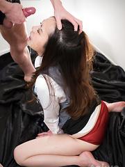 Hot deepthroat for Isaka Nao - Japarn porn pics at JapHole.com