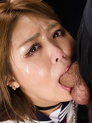 Hidaka Ayano face fuck - Japarn porn pics at JapHole.com