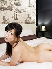 Two japanese girls Fukatsu Miyuki and Kyouno Yui servicing dick - Japarn porn pics at JapHole.com